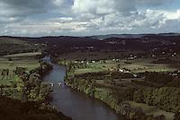 Europe/France/Aquitaine/24/Dordogne/Vallée de la Dordogne/Périgord/Périgord noir/Env de Domme: La vallée
