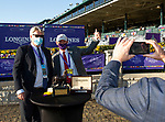 November 7, 2020 : Breeders' Award, Longines Turf on Breeders' Cup Championship Saturday at Keeneland Race Course in Lexington, Kentucky on November 7, 2020. Bill Denver/Breeders' Cup/Eclipse Sportswire/CSM