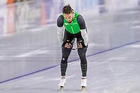28th December 2020; Thialf Ice Stadium, Heerenveen, Netherlands; World Championship Speed Skating; 1000m men Kjeld Nuis during the WKKT