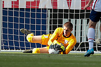 SANDY, UT - JUNE 10: Ethan Horvath #12 of the United States makes a save during a game between Costa Rica and USMNT at Rio Tinto Stadium on June 10, 2021 in Sandy, Utah.