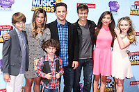LOS ANGELES, CA, USA - APRIL 26: Girl Meets World at the 2014 Radio Disney Music Awards held at Nokia Theatre L.A. Live on April 26, 2014 in Los Angeles, California, United States. (Photo by Xavier Collin/Celebrity Monitor)