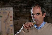 Philippe Delarche, owner winemaker domaine m delarche pernand-vergelesses cote de beaune burgundy france