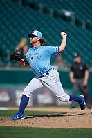 Buffalo Bisons relief pitcher Kirby Snead (52) during an International League game against the Lehigh Valley IronPigs on June 9, 2019 at Sahlen Field in Buffalo, New York.  Lehigh Valley defeated Buffalo 7-6 in 11 innings.  (Mike Janes/Four Seam Images)