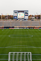 A general view of Rentschler Field prior to an international friendly between the women's national teams of the United States (USA) and Germany (GER) at Rentschler Field in East Hartford, CT, on October 23, 2012.