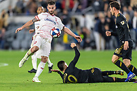 Los Angeles, CA - Saturday March 23, 2019: Los Angeles FC defeated Real Salt Lake 2-1 in a Major League Soccer (MLS) game at Banc of California Stadium.