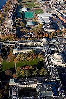 MIT aerial view, Cambridge, MA