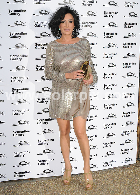 **ALL ROUND PICTURES FROM SOLARPIX.COM**.**WORLDWIDE SYNDICATION RIGHTS**.Outside arrivals at the Serpentine art gallery Summer Party 2009.  Held at the Serpentine, Hyde Park, London, UK. July 08, 2009...This pic: Nancy Dell'Olio..JOB REF: 9463 SSD     DATE: 09_07_2009.**MUST CREDIT SOLARPIX.COM OR DOUBLE FEE WILL BE CHARGED**.**ONLINE USAGE FEE GBP 50.00 PER PICTURE - NOTIFICATION OF USAGE TO PHOTO @ SOLARPIX.COM**.**CALL SOLARPIX : +34 952 811 768 or LOW RATE FROM UK 0844 617 7637**