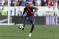 Nashville, TN - Saturday July 08, 2017: Gyasi Zardes during a 2017 Gold Cup match between the men's national teams of the United States (USA) and Panama (PAN) at Nissan Stadium.