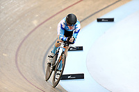Aidan Merrick competes in the U19 3000M IP during the 2020 Vantage Elite and U19 Track Cycling National Championships at the Avantidrome in Cambridge, New Zealand on Saturday, 25 January 2020. ( Mandatory Photo Credit: Dianne Manson )