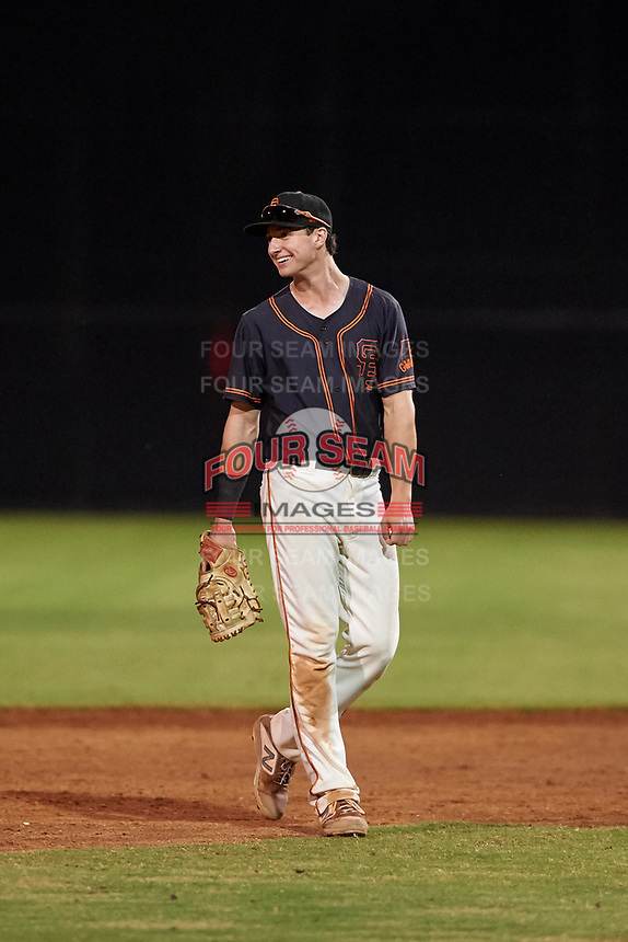 AZL Giants Black first baseman Garrett Frechette (17) during an Arizona League game against the AZL Giants Orange on July 19, 2019 at the Giants Baseball Complex in Scottsdale, Arizona. The AZL Giants Black defeated the AZL Giants Orange 8-5. (Zachary Lucy/Four Seam Images)