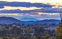 A view of the cityscape of Charlottesville located in Virginia. Photo/Andrew Shurtleff Photography, LLC