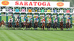 Scenes from around the track on Jim Dandy Stakes Day on July 27, 2013 at Saratoga Race Course in Saratoga Springs, New York.  (Bob Mayberger/Eclipse Sportswire)