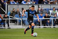 SAN JOSE, CA - FEBRUARY 29: Cristian Espinoza #10 of the San Jose Earthquakes during a game between Toronto FC and San Jose Earthquakes at Earthquakes Stadium on February 29, 2020 in San Jose, California.