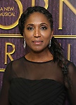 """Nita Whitaker backstage after a Song preview performance of the Bebe Winans Broadway Bound Musical """"Born For This"""" at Feinstein's 54 Below on November 5, 2018 in New York City."""