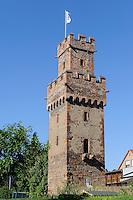Almosenturm (14.JH.) in Obernburg am Main, Bayern, Deutschland