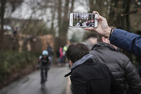 Capturing Luke Rowe (GBR/Team Sky) <br /> <br /> 73th Dwars Door Vlaanderen (1.UWT)<br /> 1day race: Roeselare › Waregem BEL (180km)