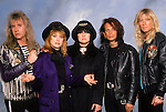 Various portraits & live photographs of the rock band, Heart.