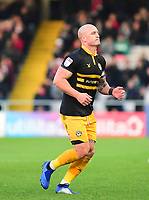 Newport County's David Pipe<br /> <br /> Photographer Andrew Vaughan/CameraSport<br /> <br /> The EFL Sky Bet League Two - Lincoln City v Newport County - Saturday 22nd December 201 - Sincil Bank - Lincoln<br /> <br /> World Copyright © 2018 CameraSport. All rights reserved. 43 Linden Ave. Countesthorpe. Leicester. England. LE8 5PG - Tel: +44 (0) 116 277 4147 - admin@camerasport.com - www.camerasport.com