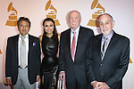 Alain Boublil, Samantha Barks, Herbert Kretzmer and Claude Michel Schonberg attends The Recording Academy Honors 2013 at 583 Park Avenue on June 25, 2013 in New York City.