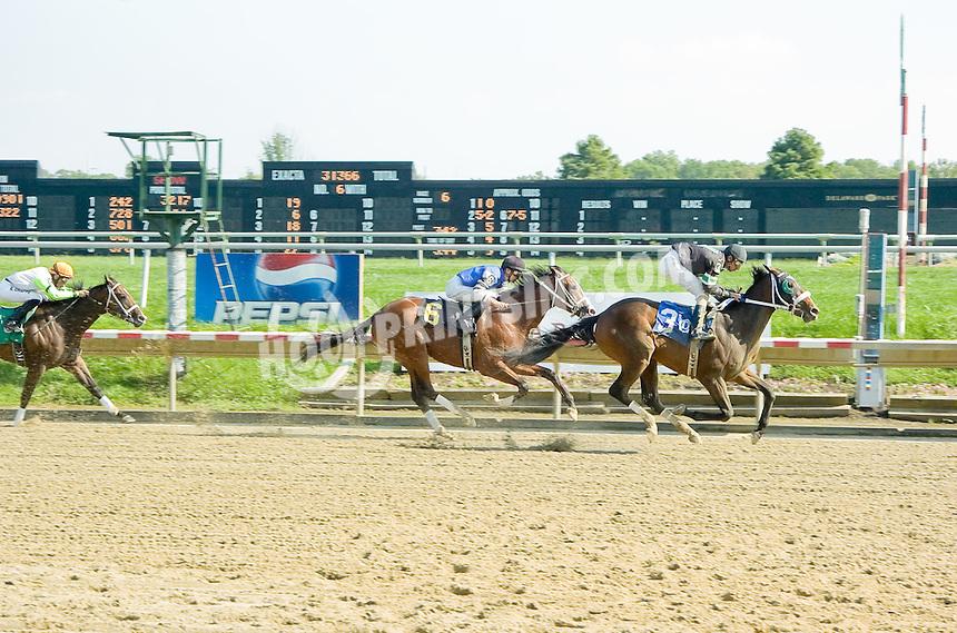 Won the War winning at Delaware Park on 9/13/11