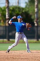 Toronto Blue Jays JC Cardenas (7) during an instructional league game against the Philadelphia Phillies on October 3, 2015 at the Carpenter Complex in Clearwater, Florida.  (Mike Janes/Four Seam Images)