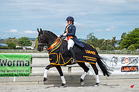 NZL-Chelsea Callaghan rides Sisters II Etta J during the Prizegiving. 2020 NZL-Livamol FEI Dressage World Challenge. Solway Showgrounds, Masterton. Friday 30 October 2020. Copyright Photo: Libby Law Photography