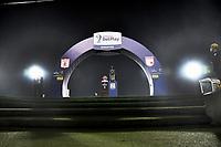 BOGOTA - COLOMBIA, 20-10-2021: Independiente Santa Fe y America de Cali en partido de vuelta por la final de la Super Liga BetPlay DIMAYOR 2021 en el estadio Nemesio Camacho El Campin de la ciudad de Bogota. / Independiente Santa Fe and America de Cali in the second leg for the final of the BetPlay DIMAYOR 2021 Super League at the Nemesio Camacho El Campin stadium in Bogota city. / Photo: VizzorImage / Luis Ramirez / Staff.