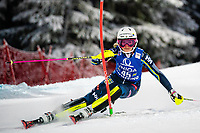 29th December 2020; Semmering, Austria; FIS Womens Giant Slalom World Cup Skiing; Charlotta Saefvenberg of Sweden during her 1st run of women Slalom competition of FIS ski alpine world cup at the Panoramapiste in Semmering