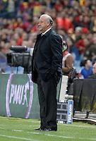 Spain's national team Vicente del Bosque during match. October 16, 2012. (ALTERPHOTOS/Alvaro Hernandez) /NORTEPhoto