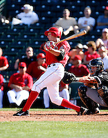 Peter Bourjos - Los Angeles Angels - 2009 spring training.Photo by:  Bill Mitchell/Four Seam Images
