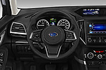 Car pictures of steering wheel view of a 2020 Subaru Forester Premium 5 Door Wagon