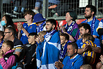 St Johnstone v Lask…26.08.21  McDiarmid Park    Europa Conference League Qualifier<br />Disappointed saints fans applaud the players at full time<br />Picture by Graeme Hart.<br />Copyright Perthshire Picture Agency<br />Tel: 01738 623350  Mobile: 07990 594431