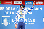 Rein Taaramäe (EST) Intermarché-Wanty-Gobert Matériaux also retains the mountains Polka Dot Jersey at the end of Stage 5 of La Vuelta d'Espana 2021, running 184.4km from Tarancón to Albacete, Spain. 18th August 2021.    <br /> Picture: Luis Angel Gomez/Photogomezsport   Cyclefile<br /> <br /> All photos usage must carry mandatory copyright credit (© Cyclefile   Luis Angel Gomez/Photogomezsport)