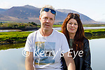 Enjoying a stroll in Blennerville on Tuesday, l to r: Colm O'Neill and Linda Moriarty.
