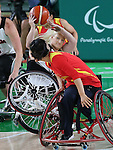 Melanie Labelle, Rio 2016 - Wheelchair Basketball // Basketball en fauteuil roulant.<br /> Canada vs. China in women's Wheelchair Basketball  // Le Canada contre la Chine en  basketball en fauteuil roulant féminin . 16/09/2016.