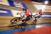 fast lap for Alex Rasmussen (DEN) & Marc Hester (DEN)<br /> <br /> Ghent 6 - day 1