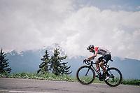 Thomas de Gendt (BEL/Lotto-Soudal)<br /> <br /> Stage 6: Frontenex > La Rosière Espace San Bernardo (110km)<br /> 70th Critérium du Dauphiné 2018 (2.UWT)