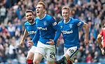 05.05.2018 Rangers v Kilmarnock: David Bates celebrates his goal