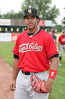 September 5, 2009: Ryde Rodriquez  of the Quad City River Bandits. The River Bandits are the Midwest League affiliate for the St. Louis Cardinals. Photo by: Chris Proctor/Four Seam Images