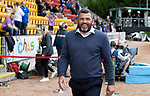 St Johnstone v Rangers…11.09.21  McDiarmid Park    SPFL<br />All smiles from aints manager Callum Davidson after it was announced he had just signed a new contract<br />Picture by Graeme Hart.<br />Copyright Perthshire Picture Agency<br />Tel: 01738 623350  Mobile: 07990 594431