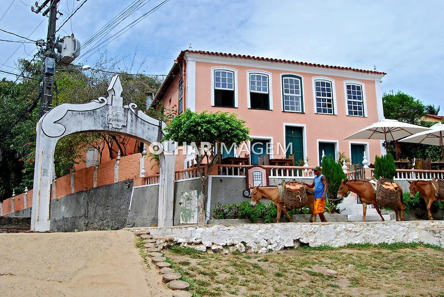 Vila em Morro de São Paulo. Ilha de Tinharé. Bahia. 2007. Foto de Daniel Cymbalista.