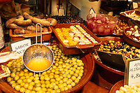 Spanien, Mallorca, auf dem Markt Mercat Olivar in Palma de Mallorca