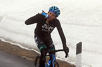 24th May 2021, Giau Pass, Italy; Giro d'Italia, Tour of Italy, route stage 16, Sacile to Cortina d'Ampezzo ; 115 FORTUNATO Lorenzo ITA