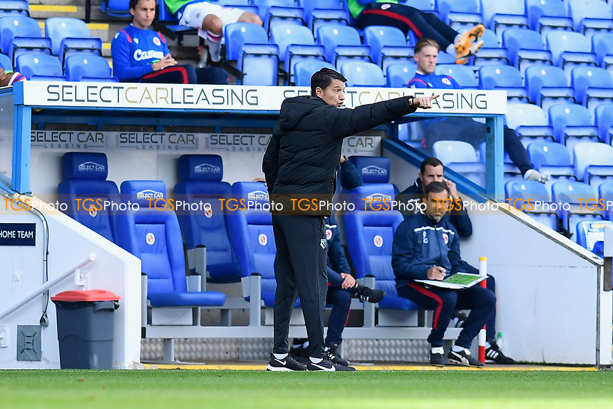 Watford Manager Vladimir Ivic issues instructions during Reading vs Watford, Sky Bet EFL Championship Football at the Madejski Stadium on 3rd October 2020