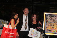 "General Hospital Jacklyn Zeman ""Bobbie Spencer"" with Robin & Steve Kaufman. Jackie is honorary chair of The 29th Annual Jane Elissa Extravaganza which benefits The Jane Elissa Charitable Fund for Leukemia & Lymphoma Cancer, Broadway Cares and other charities on November 14, 2016 at the New York Marriott Hotel, New York City presented by Bridgehampton National Bank and Walgreens.  (Photo by Sue Coflin/Max Photos)"