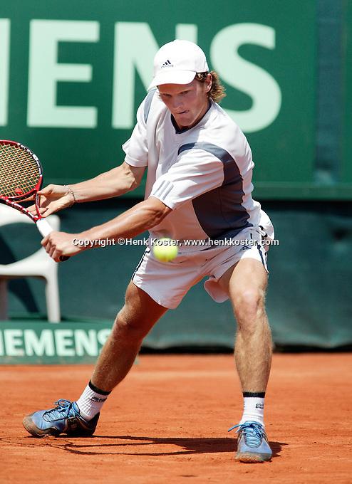 12-7-06,Scheveningen, Siemens Open, second round match, Nick van der Meer