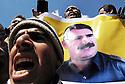 Iraq 2009 .Celebration of Nowruz in Qandil by supporters of PKK.<br /> Irak 2009.Sympathisants du PKK celebrant Nowruz a Candil