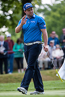 21.05.2015. Wentworth, England. BMW PGA Golf Championship. Round 1.  Matt Ford [ENG] during the first round of the 2015 BMW PGA Championship from The West Course Wentworth Golf Club