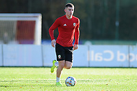 Ben Woodburn of Wales in action during the Wales Training Session at The Vale Resort in Cardiff, Wales, UK. Monday 12 November 2018