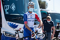 24th March 2021; Castelldefels, Catalonia, Spain; Volta Catalunya Cycling Tour stage 3 from Canal Olimpic de Catalunya to Vallter 2000; SÉBASTIEN REICHENBACH of team GROUPAMA - FDJ